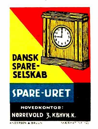Dansk Spare-Selskab (Spareuret) | Perfiner
